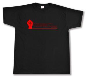 T-Shirt: Die Philosophen haben die Welt nur verschieden interpretiert.