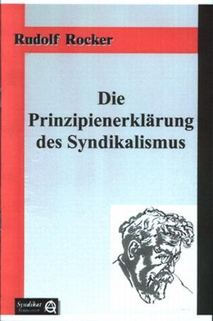 Broschüre: Die Prinzipienerklärung des Syndikalismus