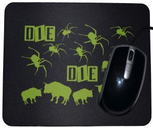 Mousepad: Die spinnen die Bullen