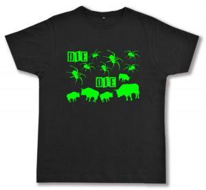 Fairtrade T-Shirt: Die Spinnen Die Bullen (grün)