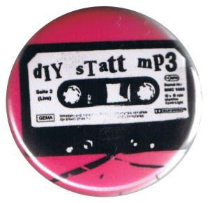 37mm Button: diy statt mp3