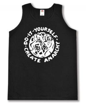 Man Tanktop: do it yourself - create anarchy