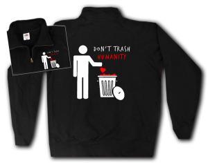Sweat-Jacket: Do not trash humanity