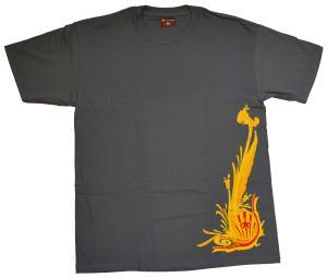T-Shirt: Dragon Gold