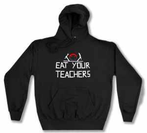 Kapuzen-Pullover: Eat your teachers