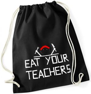 Sportbeutel: Eat your teachers