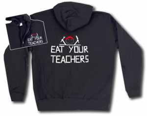 Kapuzen-Jacke: Eat your teachers