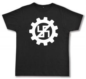 Fairtrade T-Shirt: EBM gegen Nazis