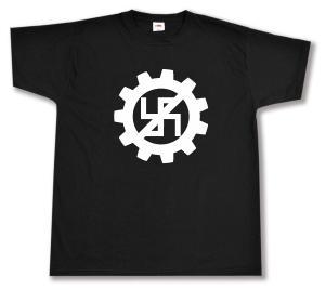 T-Shirt: EBM gegen Nazis