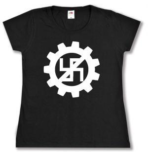 Girlie-Shirt: EBM gegen Nazis
