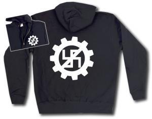 Kapuzen-Jacke: EBM gegen Nazis
