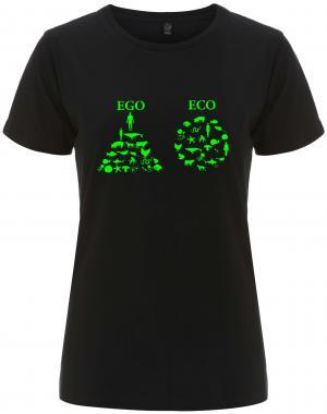 tailliertes Fairtrade T-Shirt: Ego - Eco