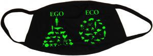 Mundmaske: Ego - Eco