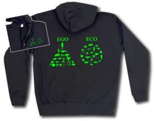 Kapuzen-Jacke: Ego - Eco
