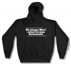 Kapuzen-Pullover: Ein kluges Wort - schon ist man Kommunist