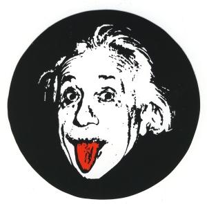 Aufkleber: Einstein