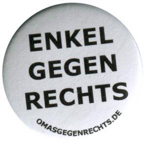 37mm Magnet-Button: Enkel gegen Rechts
