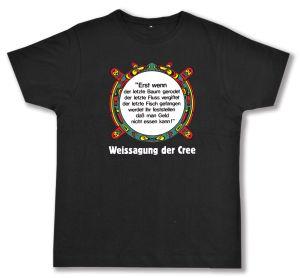 Fairtrade T-Shirt: Erst wenn der letzte Baum gerodet....