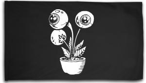 Fahne / Flagge (ca. 150x100cm): Eyeflower