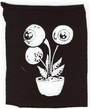 Aufnäher: Eyeflower