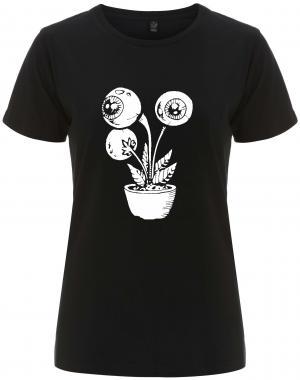 tailliertes Fairtrade T-Shirt: Eyeflower