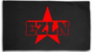 Fahne / Flagge (ca. 150x100cm): EZLN
