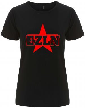 tailliertes Fairtrade T-Shirt: EZLN