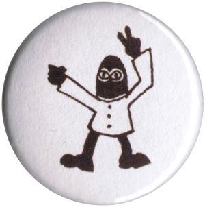 37mm Magnet-Button: EZLN Mann