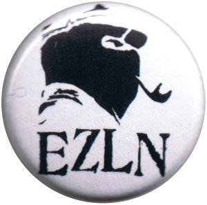 37mm Magnet-Button: EZLN Marcos