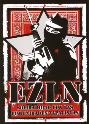 Aufkleber-Paket: EZLN Solidaridad con las Comunidades Zapatistas