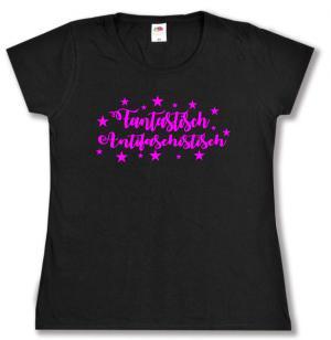 tailliertes T-Shirt: Fantasisch Antifaschistisch
