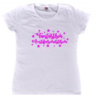 tailliertes T-Shirt: Fantastisch Antifaschistisch