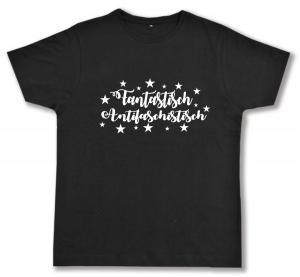 Fairtrade T-Shirt: Fantastisch Antifaschistisch (weiß)