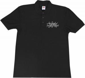 Polo-Shirt: Fantastisch Antifaschistisch (weiß)
