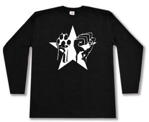 Longsleeve: Faust und Pfote - Stern
