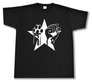 T-Shirt: Faust und Pfote - Stern