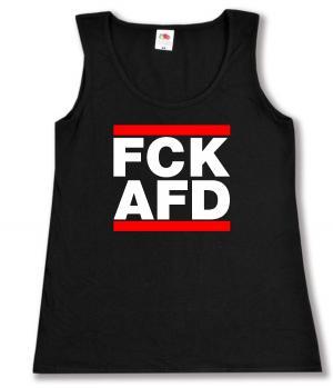 tailliertes Tanktop: FCK AFD