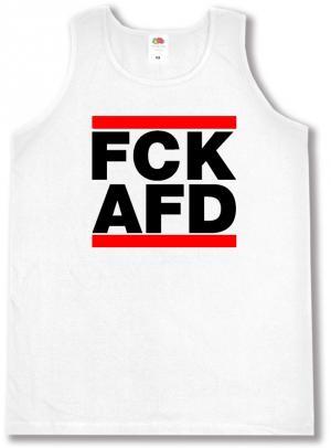 Tanktop: FCK AFD