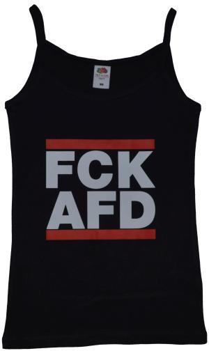 Top / Trägershirt: FCK AFD