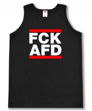 Man Tanktop: FCK AFD