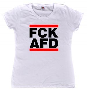 Girlie-Shirt: FCK AFD
