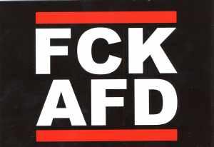 Postkarte: FCK AFD