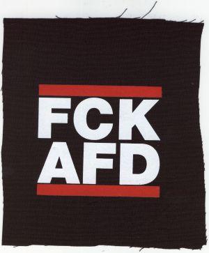 Aufnäher: FCK AFD