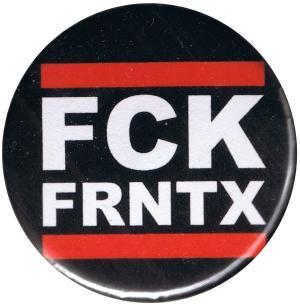 37mm Button: FCK FRNTX