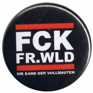 50mm Button: FCK FR.WLD