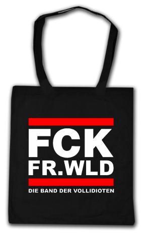 Baumwoll-Tragetasche: FCK FR.WLD