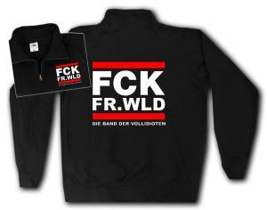 Sweat-Jacket: FCK FR.WLD