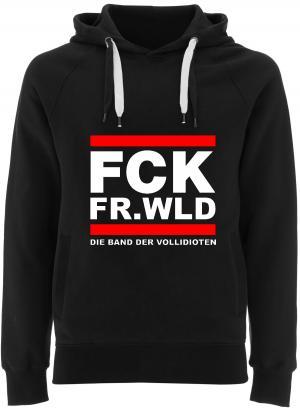 Fairtrade Pullover: FCK FR.WLD