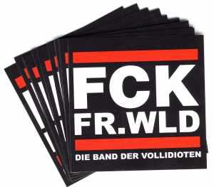 Aufkleber-Paket: FCK FR.WLD