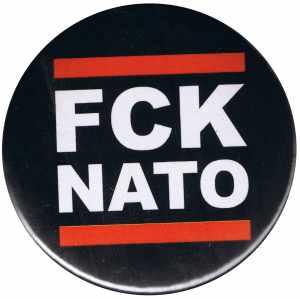50mm Magnet-Button: FCK NATO
